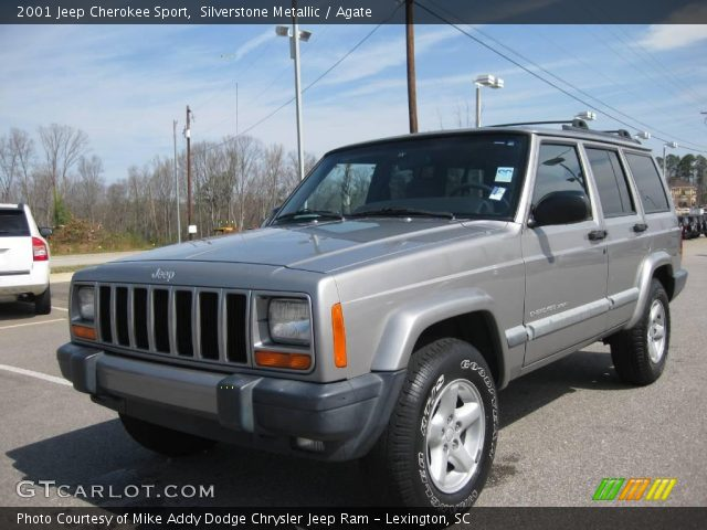2001 jeep cherokee sport in silverstone metallic click to see large. Cars Review. Best American Auto & Cars Review