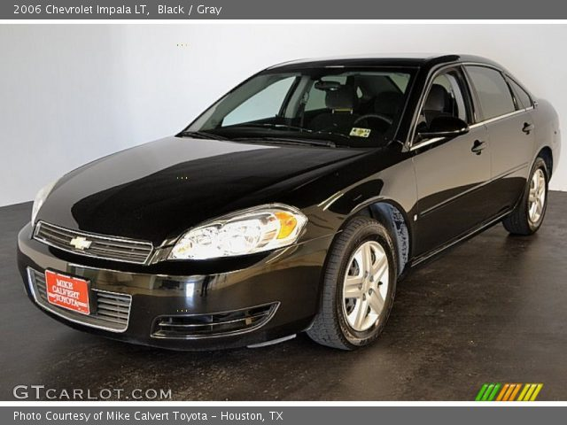 black 2006 chevrolet impala lt gray interior. Black Bedroom Furniture Sets. Home Design Ideas