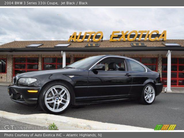 jet black 2004 bmw 3 series 330i coupe black interior vehicle archive 55073635. Black Bedroom Furniture Sets. Home Design Ideas