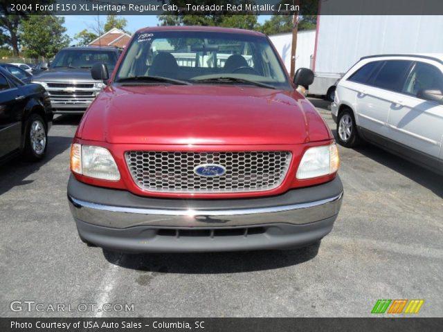 2004 Ford F150 XL Heritage Regular Cab in Toreador Red Metallic