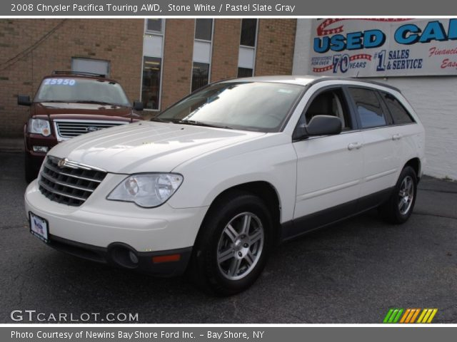 stone white 2008 chrysler pacifica touring awd pastel. Black Bedroom Furniture Sets. Home Design Ideas