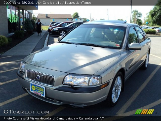 ash gold metallic 2002 volvo s80 2 9 taupe lighttaupe. Black Bedroom Furniture Sets. Home Design Ideas