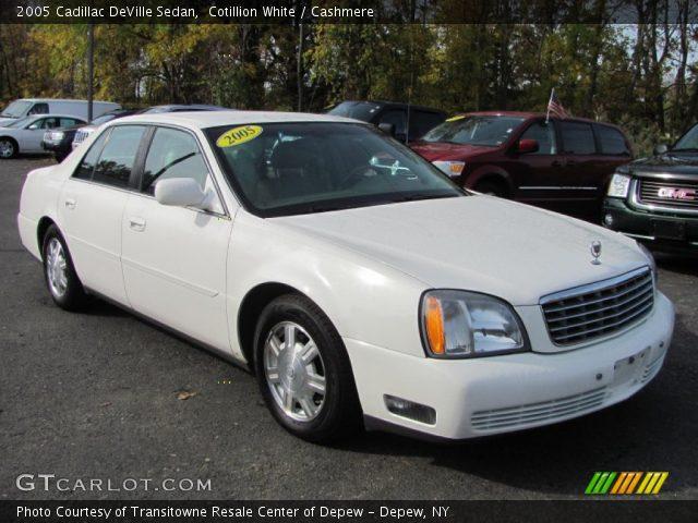 Cotillion White - 2005 Cadillac Deville Sedan - Cashmere Interior