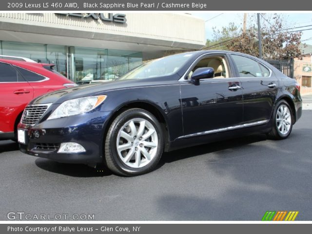 black sapphire blue pearl 2009 lexus ls 460 awd. Black Bedroom Furniture Sets. Home Design Ideas