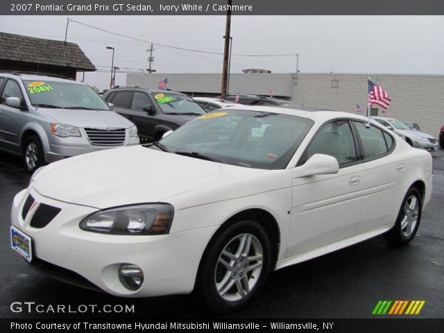 ivory white 2007 pontiac grand prix gt sedan cashmere interior vehicle. Black Bedroom Furniture Sets. Home Design Ideas