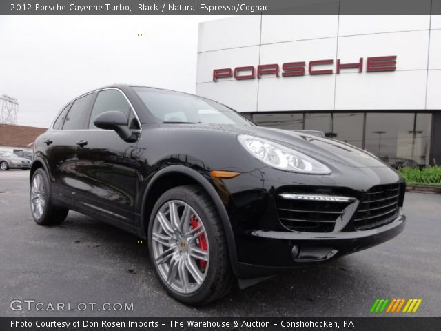2012 Porsche Cayenne Turbo in Black