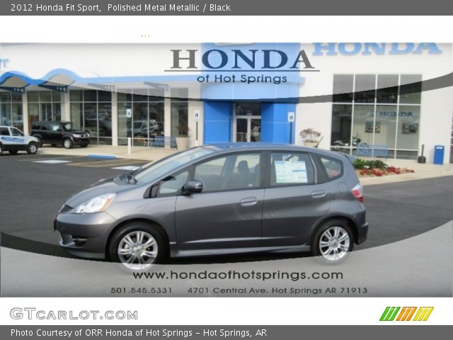 2012 Honda Fit Sport in Polished Metal Metallic