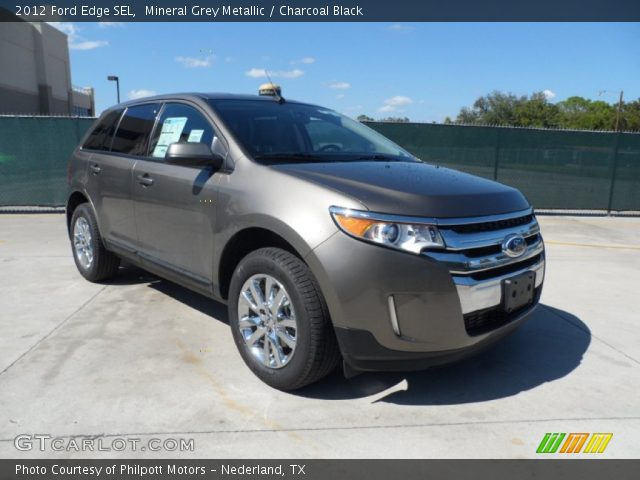 2012 Ford Edge SEL in Mineral Grey Metallic