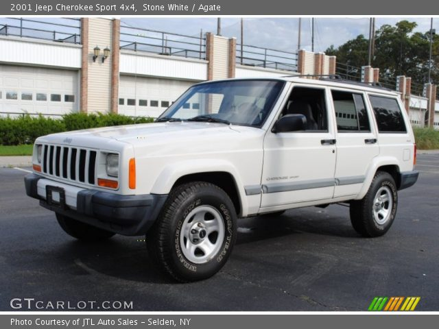 stone white 2001 jeep cherokee sport 4x4 agate interior gtcarlot. Cars Review. Best American Auto & Cars Review