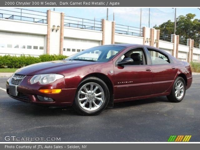 Dark garnet red metallic 2000 chrysler 300 m sedan - Chrysler 300 red interior for sale ...