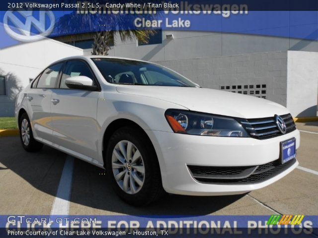 2012 Volkswagen Passat 2.5L S in Candy White