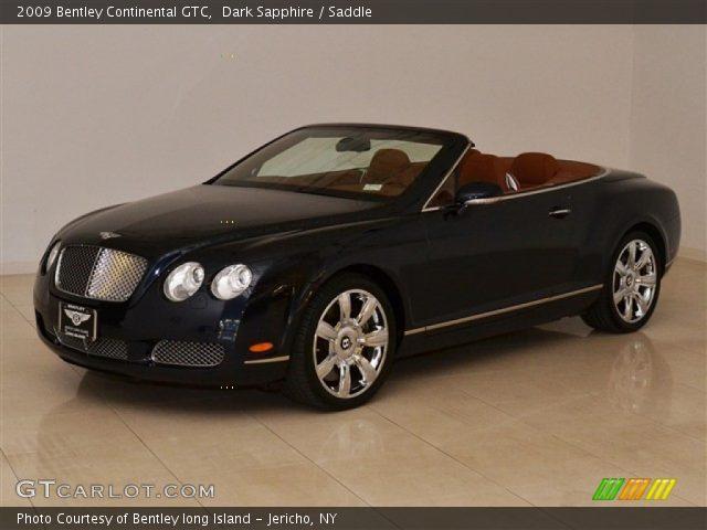 2009 Bentley Continental GTC  in Dark Sapphire