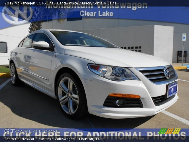 candy white 2012 volkswagen cc r line black cornsilk beige interior vehicle. Black Bedroom Furniture Sets. Home Design Ideas
