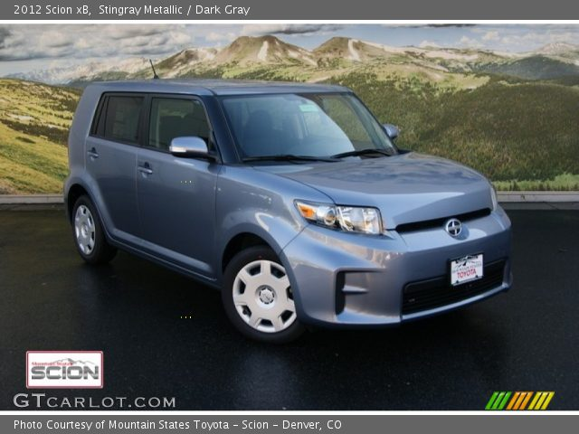 2012 Scion xB  in Stingray Metallic