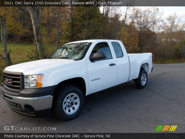 2011 GMC Sierra 1500 Extended Cab in Summit White