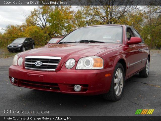 Attractive 2004 Kia Optima EX V6 In Ruby Red
