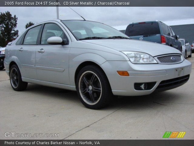 cd silver metallic 2005 ford focus zx4 st sedan. Black Bedroom Furniture Sets. Home Design Ideas