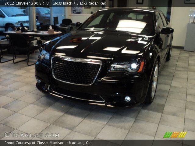 2012 Chrysler 300 SRT8 in Gloss Black