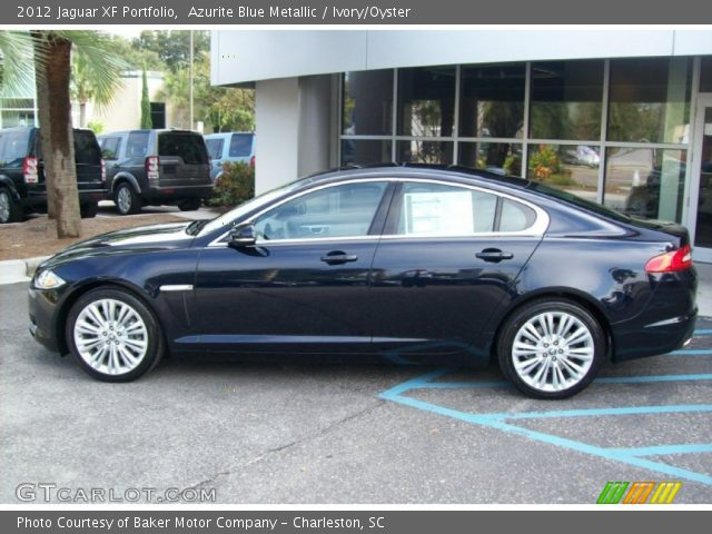 2012 Jaguar XF Portfolio in Azurite Blue Metallic