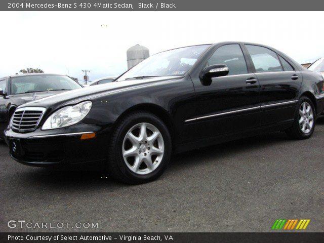 Black 2004 mercedes benz s 430 4matic sedan black for Mercedes benz s 430