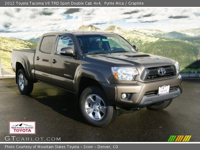 2012 Toyota Tacoma V6 TRD Sport Double Cab 4x4 in Pyrite Mica