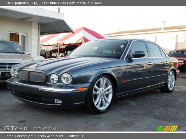 dark blue grey pearl metallic 2004 jaguar xj xjr dove. Black Bedroom Furniture Sets. Home Design Ideas