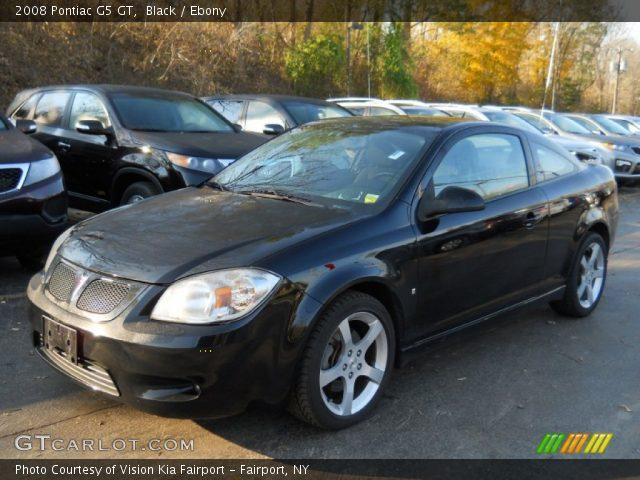 Black 2008 Pontiac G5 Gt Ebony Interior Gtcarlot Com