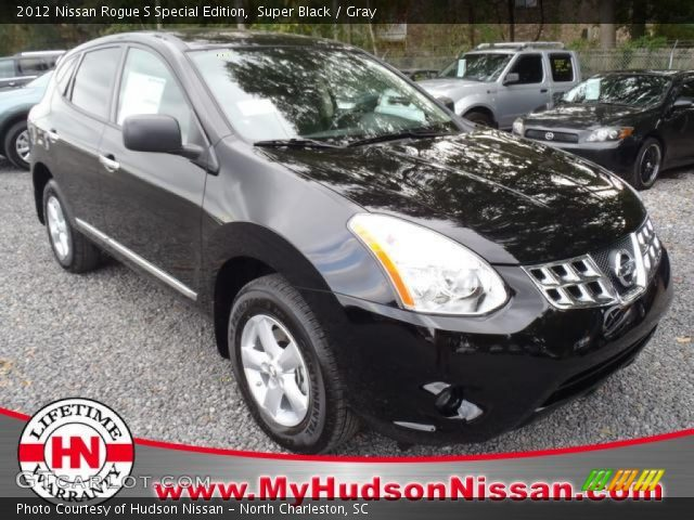 Super black 2012 nissan rogue s special edition gray - 2012 nissan rogue exterior colors ...
