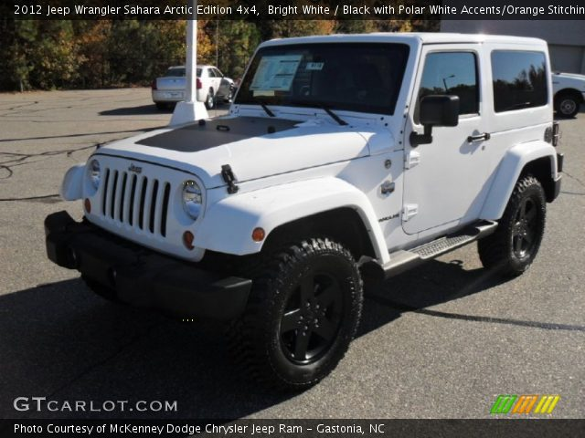 bright white 2012 jeep wrangler sahara arctic edition 4x4 black with polar white accents. Black Bedroom Furniture Sets. Home Design Ideas