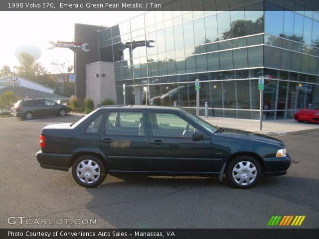 on 1998 Volvo S70 Specifications