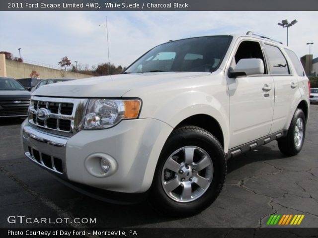 white suede 2011 ford escape limited 4wd charcoal. Black Bedroom Furniture Sets. Home Design Ideas