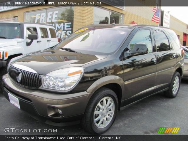 black onyx 2005 buick rendezvous ultra light neutral. Black Bedroom Furniture Sets. Home Design Ideas