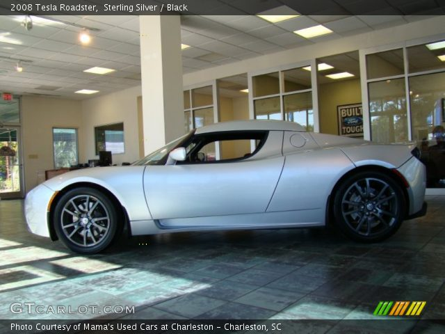 2008 Tesla Roadster  in Sterling Silver