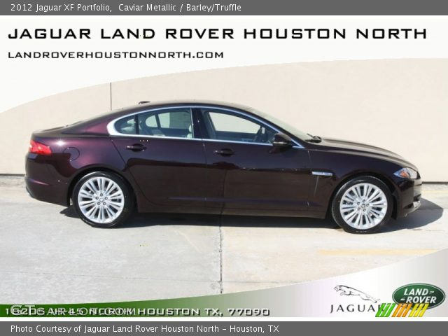 2012 Jaguar XF Portfolio in Caviar Metallic
