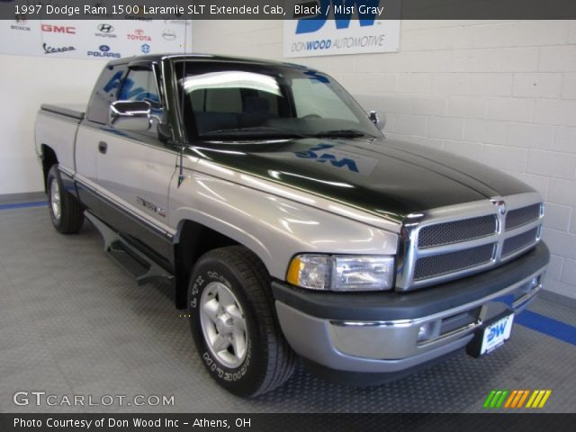black 1997 dodge ram 1500 laramie slt extended cab mist gray interior. Black Bedroom Furniture Sets. Home Design Ideas