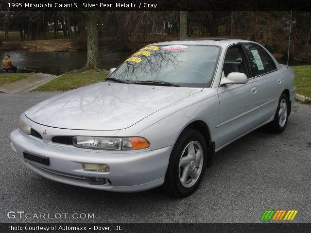1995 Mitsubishi Galant S in Silver Pearl Metallic