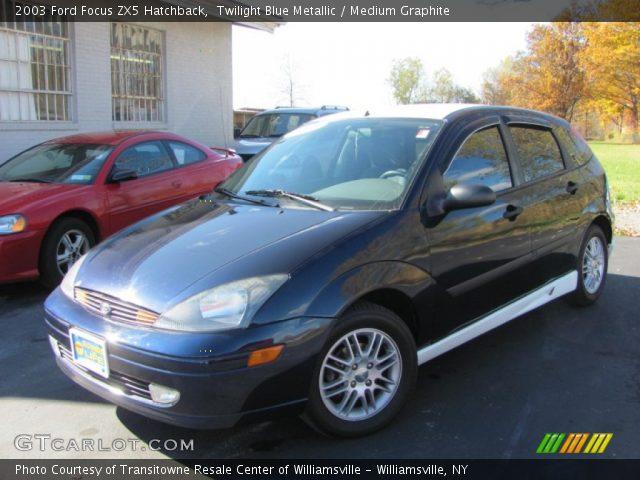 twilight blue metallic 2003 ford focus zx5 hatchback. Black Bedroom Furniture Sets. Home Design Ideas