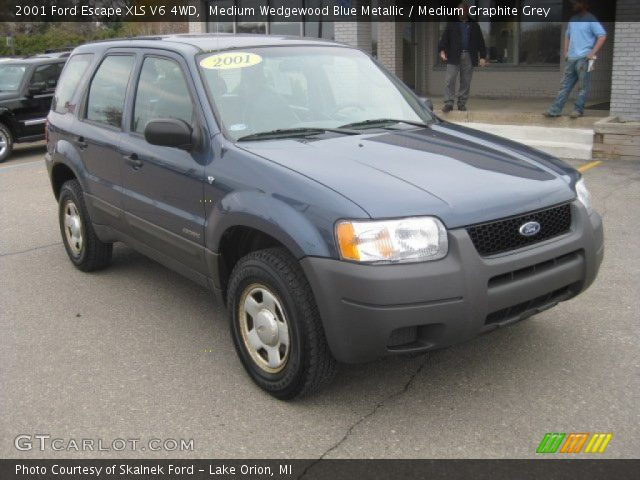 Medium Wedgewood Blue Metallic 2001 Ford Escape Xls V6