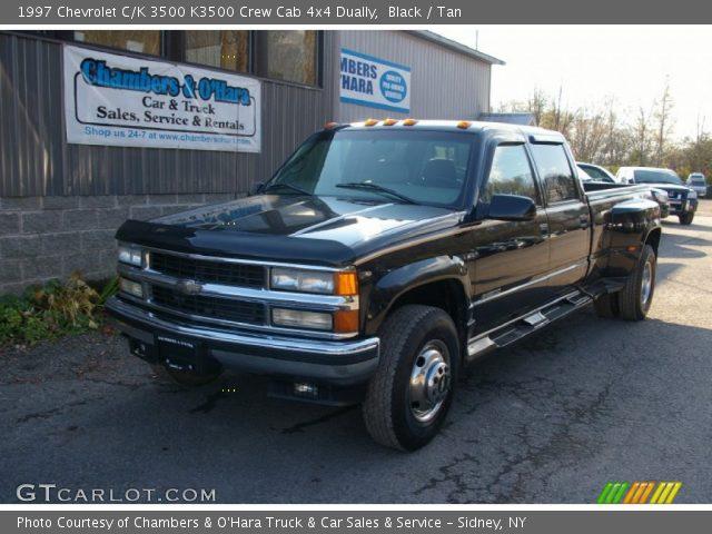 1997 Chevrolet C/K 3500 K3500 Crew Cab 4x4 Dually in Black. Click to ...