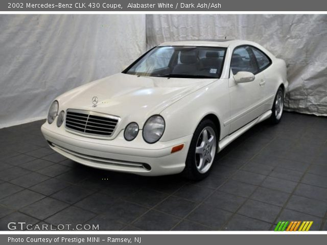 2002 Mercedes-Benz CLK 430 Coupe in Alabaster White