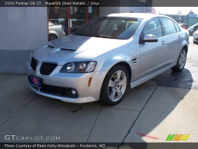 2009 Pontiac G8 GT in Maverick Silver Metallic