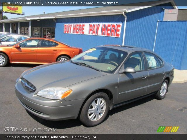spruce green metallic 2003 ford taurus sel medium. Black Bedroom Furniture Sets. Home Design Ideas