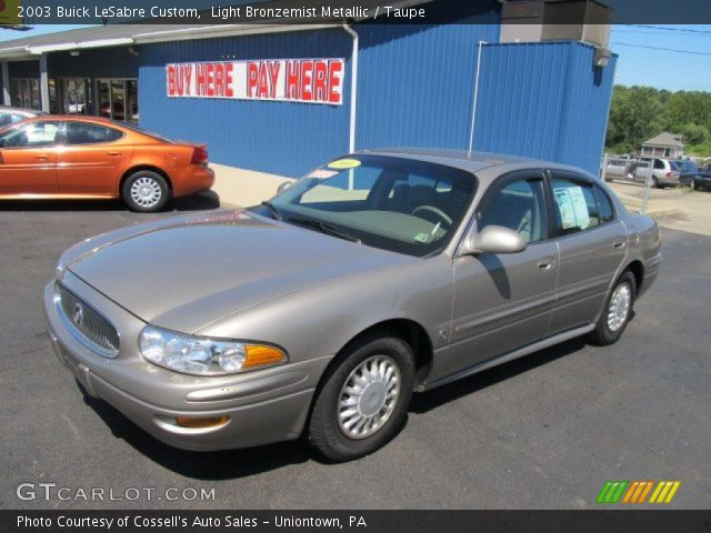 2003 Buick Lesabre Custom Related Infomation