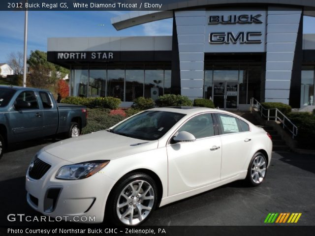 2012 Buick Regal GS in White Diamond Tricoat