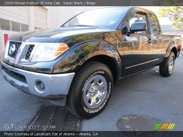 super black 2009 nissan frontier se king cab beige. Black Bedroom Furniture Sets. Home Design Ideas