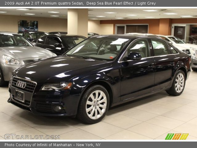 2009 Audi A4 2.0T Premium quattro Sedan in Deep Sea Blue Pearl Effect