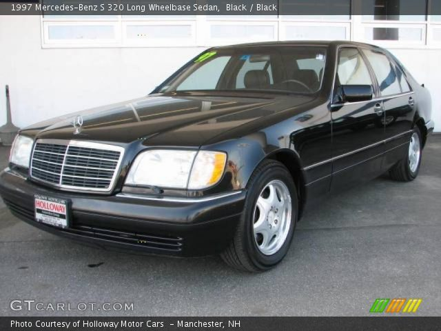 1997 Mercedes-Benz S 320 Long Wheelbase Sedan in Black