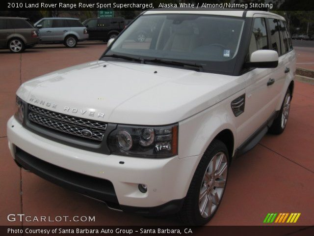 2010 Land Rover Range Rover Sport Supercharged in Alaska White