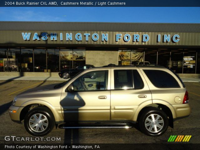 2004 Buick Rainier CXL AWD in Cashmere Metallic