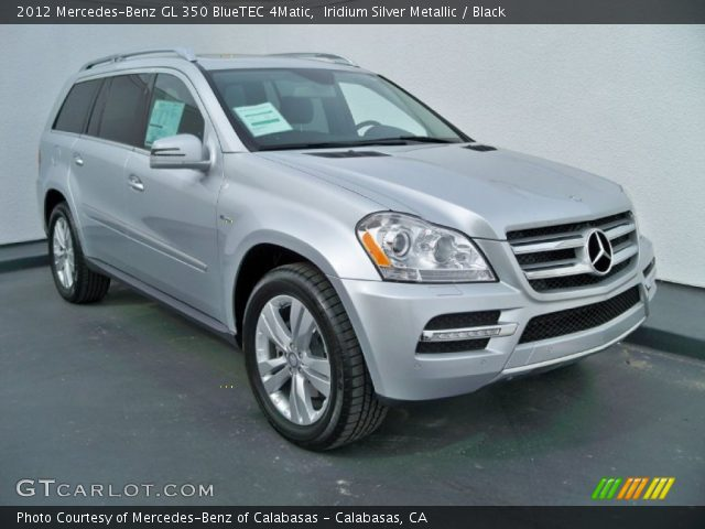 iridium silver metallic 2012 mercedes benz gl 350. Black Bedroom Furniture Sets. Home Design Ideas